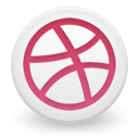 Dribbble Emoticon
