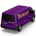 Yahoo Van Back Emoticon