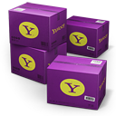 Yahoo Shipping Box Emoticon