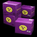 Yahoo Shipping Box Emoticon