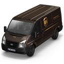 UPS Van Front Emoticon