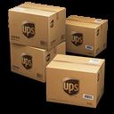 UPS Shipping Box Emoticon