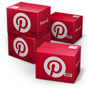 Pinterest Shipping Box Emoticon