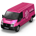 Dribbble Van Front Emoticon