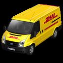 DHL Van Front Emoticon