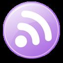 Feeds Lilac Emoticon