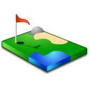 Golf Emoticon