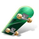 Skateboard Emoticon
