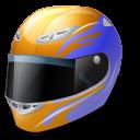 Motorsport Helmet Emoticon