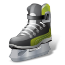 Hockey IceSkate Emoticon