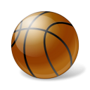 Basketball Ball Emoticon