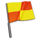 Referee Flag Emoticon