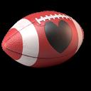 Love Football Emoticon