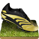 Soccer Shoe Grass Emoticon
