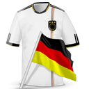 Soccer Shirt Germany Emoticon