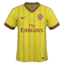 Arsenal Away Emoticon