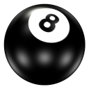 Ball 8 Emoticon