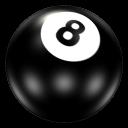 Ball 8 Emoticon