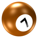 Ball 7 Emoticon