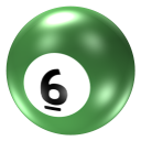 Ball 6 Emoticon