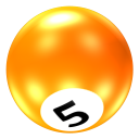 Ball 5 Emoticon