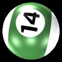 Ball 14 Emoticon