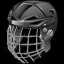 Ice Hockey Helmet Emoticon