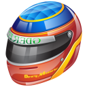 Formula 1 Helmet Emoticon