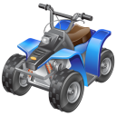 Atv Racing Emoticon