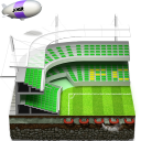 Soccer Football Stadium Emoticon