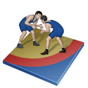 Wrestling Greco Roman Emoticon