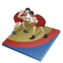 Wrestling Freestyle Emoticon