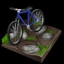 Cycling Mountain Biking Emoticon