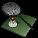 Badminton Emoticon