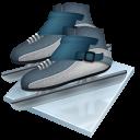 Short Track Speed Skating Emoticon
