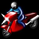 Motorcyclist Emoticon