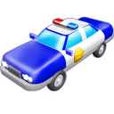 Police Car Emoticon