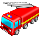 Fire Engine Emoticon
