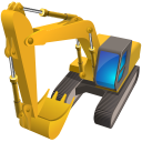 Excavator Emoticon