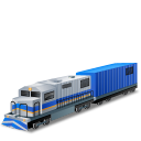 DieselLocomotive Boxcar Emoticon