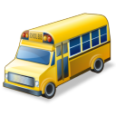 School Bus Emoticon