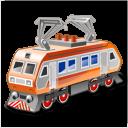 Electric Locomotive Emoticon