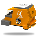 Space Racing Car 1 Emoticon