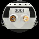 Space Racing Car 3 Emoticon