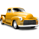 Yellow Pickup Emoticon