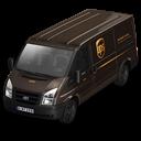 UPS Van Front Emoticon