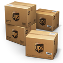 UPS Shipping Box Emoticon
