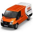 TNT Van Front Emoticon