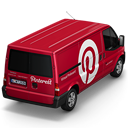 Pinterest Van Back Emoticon