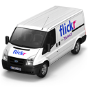 Flickr Van Front Emoticon